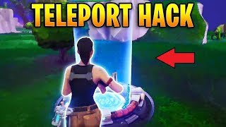 Fortnite - Téléport Glitch dans retail Row!!!