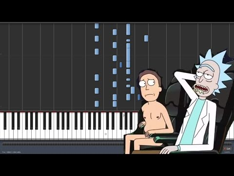 Baker Street - Gerry Rafferty - Rick and Morty [Piano Tutorial] (Synthesia)