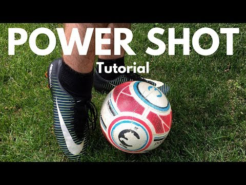 Soccer Power Shot Technique  Start Crushing The Ball Accurately!