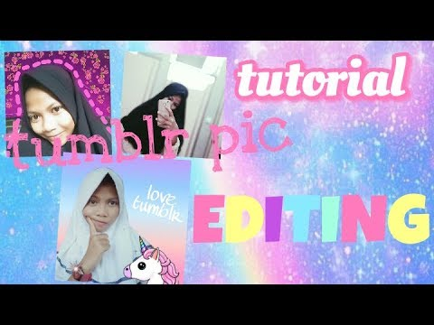 How i edit my tumblr picture use PICSART