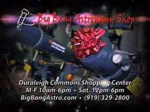 Big Bang Astronomy Shop Commercial