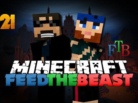 Minecraft Modded Survival - FTB 21 - TNT FACTORY