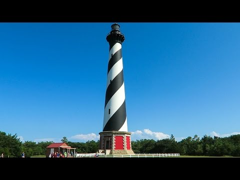 Climbing Cape Hatteras Lighthouse: Travel Vlog