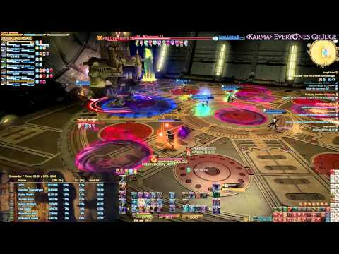 Level 60 Black Mage Rotation V3 - 1130DPS @6mins | Final Fantasy XIV