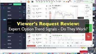 Binary Option Signals: Expert Option Trend Signals Reviewed