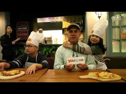 Kids have fun at PastaMania Shanghai's Pizza Making Class
