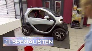 Wieso parkt dieses Auto mitten im Krankenhaus? | Auf Streife - Die Spezialisten | SAT.1 TV