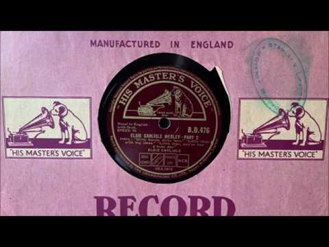 """Elsie Carlisle - """"Elsie Carlisle Medley"""" (1937)"""