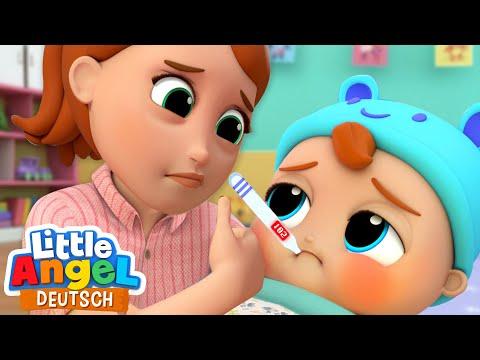 Das Baby Ist Krank   Mama Kümmert Sich Um Mich   Little Angel Deutsch