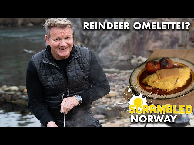 Gordon Makes An Omelette In Norway With...Reindeer Sausage!? | Scrambled - Gordon Ramsay