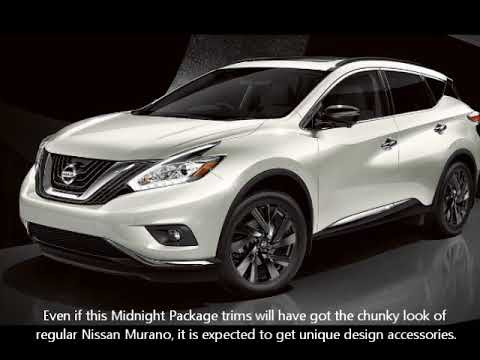 2019 nissan murano midnight package release date and price youtube. Black Bedroom Furniture Sets. Home Design Ideas
