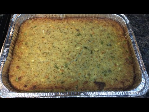 Southern Cornbread Dressing | Cook With Me | NotesFromNancy