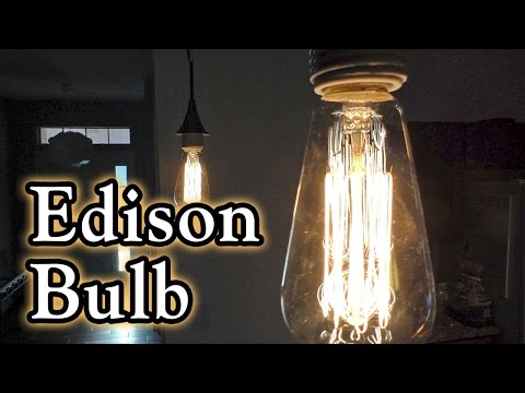 KINGSO Vintage Edison Bulbs 60W Squirrel Cage Filament Incandescent Antique Bulb for Home Light