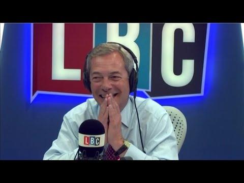 The Nigel Farage Show - LBC Exclusive - May vs Corbyn vs UKIP - 20/04/2017