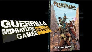 GMG Reviews -  RELICBLADE - The Seeker's Handbook 2E by Metal King Studios