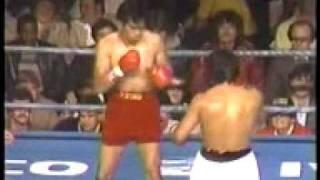 Roberto Duran vs Pipino Cuevas Part 1