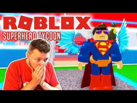 JEG ER SUPERMAN! - Roblox Superhero Tycoon Dansk Ep 1