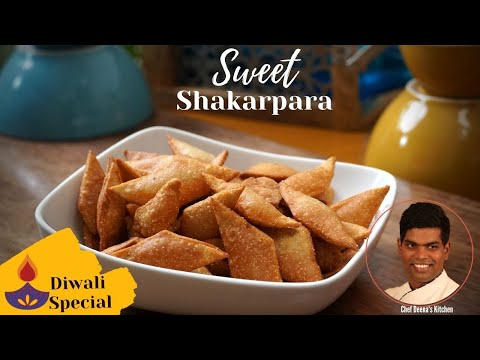Shakarpara Recipe In Tamil | How to Make Shakarapara | CDK #329 |Chef Deena's Kitchen