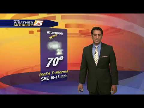 "3/16 - Rob Knight's Fri-Yay ""Warmer/Cloudy/Rainy"" Forecast"