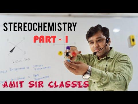 Stereochemistry|| Representation Of Molecules| |Wedge Dash || Fischer  ||Amit Sir Classes||