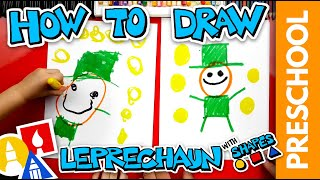 Drawing A Leprechaun Using Shapes - Preschool