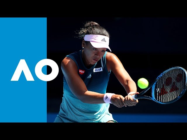 Naomi Osaka v Elina Svitolina second set highlights