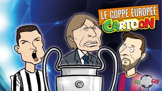 AUTOGOL CARTOON - Le Coppe europee