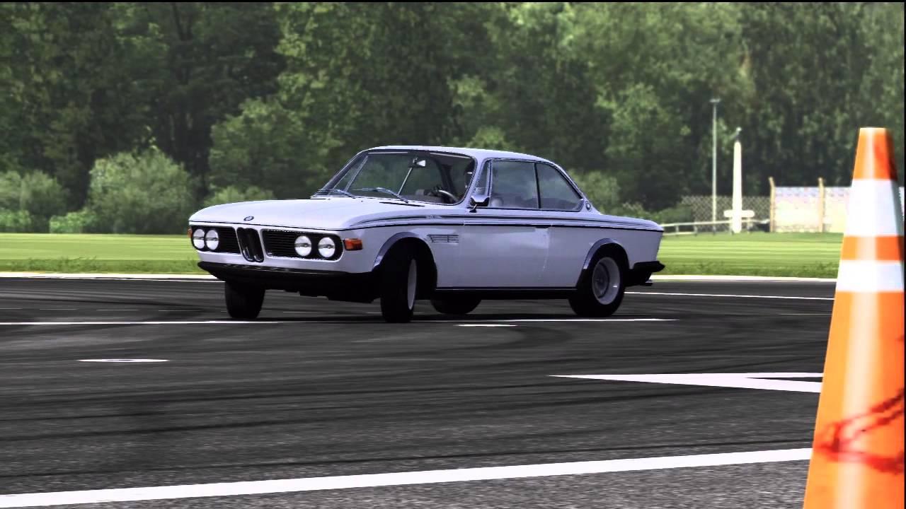 Forza Motorsport 4 Top Gear Power Laps: 1971 BMW 3.0 CSL - YouTube