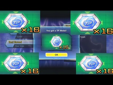 Dragon Ball Xenoverse 2: How to get TP Medals FAST! (Quick TP Medal Grind!)