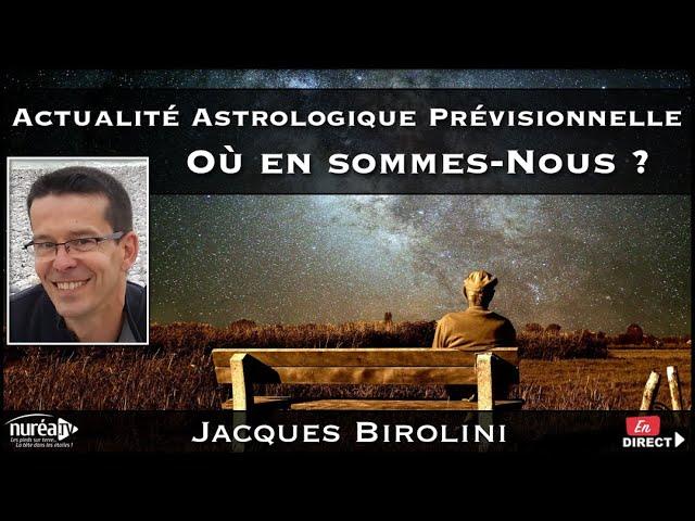 « Prévisions Astrologiques 2021/2022 » avec Jacques Birolini - NURÉA TV
