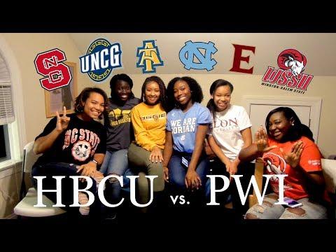 HBCU VS. PWI   UNC, A&T, WSSU, UNCG, Elon, NC State + Advice