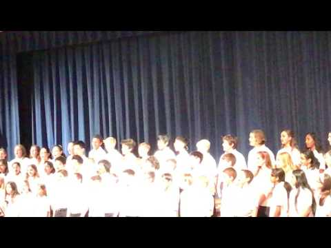 Cantar school chorus play by valley forge middle school 6 grade team