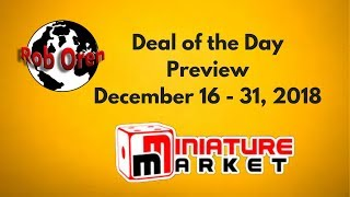 Miniature Market's Deal Of The Day - Dec.16-31