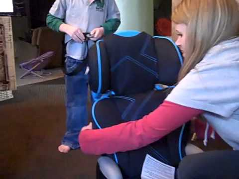 Evenflo AMP Booster Seat Review - YouTube