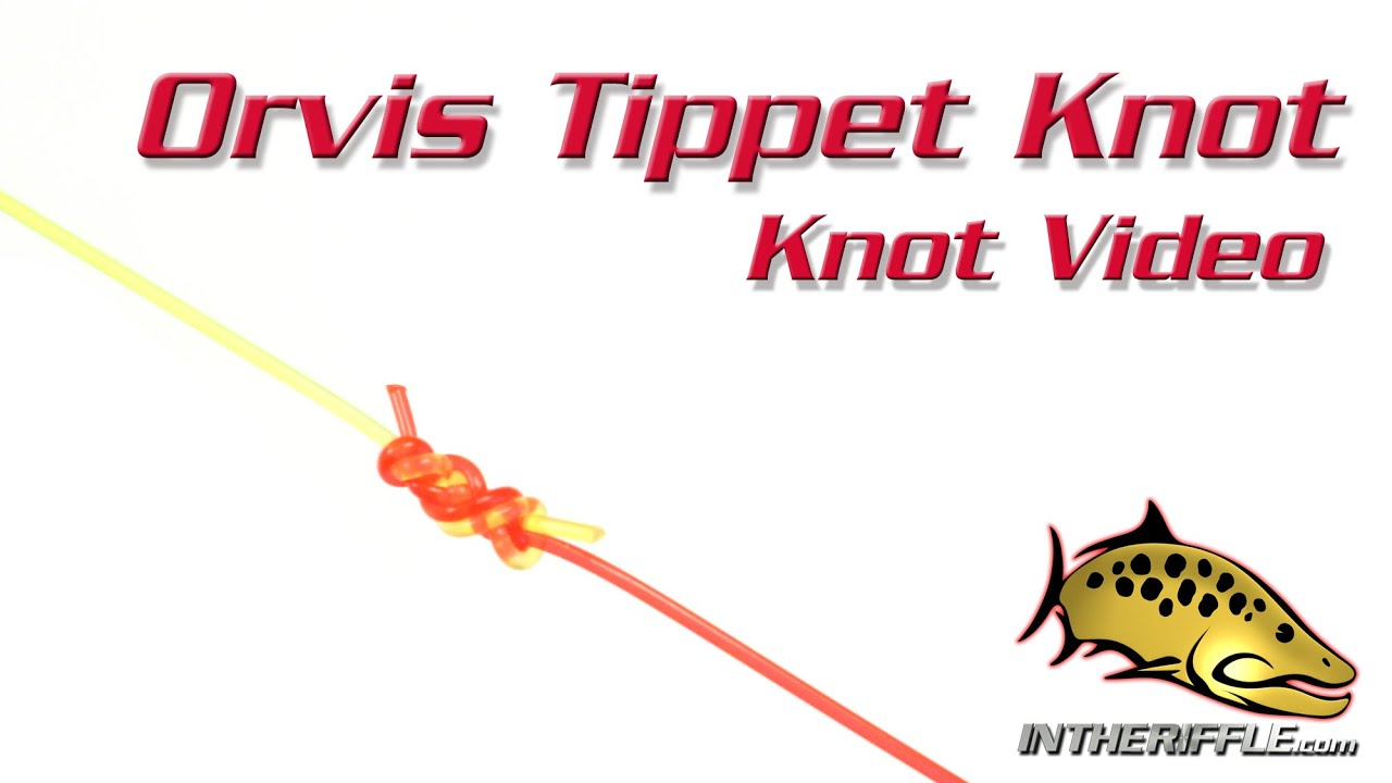 Orvis Tippet Knot   Fly Fishing Knots   YouTube  Line Leader