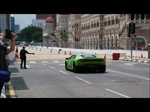 KL Supercar Drag Race (Day 2) - Huracan, SLS, Murcielago | Revving, Acceleration, DRAG RACING
