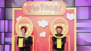 Seth Rogen and His Wife Lauren Play 'Pie Face'