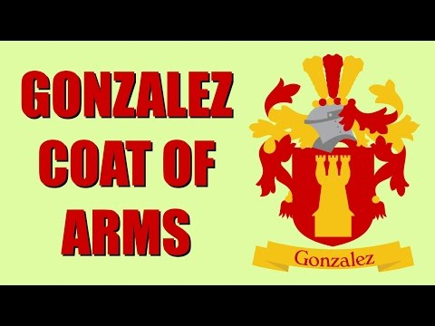 Gonzalez Coat of Arms