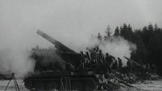 Classix: Artillerie-Schießen mit Haubitze, Raketen und Panzermörser (1970)