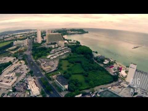Big Air - aerial video of Tanguisson Beach & Tumon, Guam