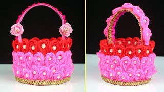 Plastic Bottle Innovative Ideas Of Basket || How to make Basket | Craft ideas | Best out of waste