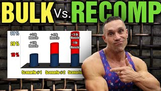 "BULKING & CUTTING vs. ""Main-Gaining"" - Best Way To Maximize Long Term Muscle Growth"