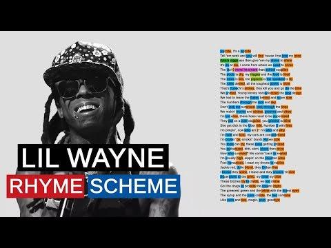Lil Wayne on Bloody Mary   Rhyme Scheme