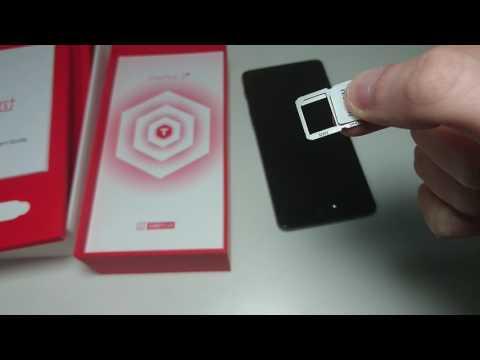 OnePlus 3T How to Insert Nano SIM Card (Dual SIM)