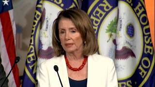 Nancy Pelosi Reacts to Trump's Tweets about Mika Brzezinski & morning joe scarborough
