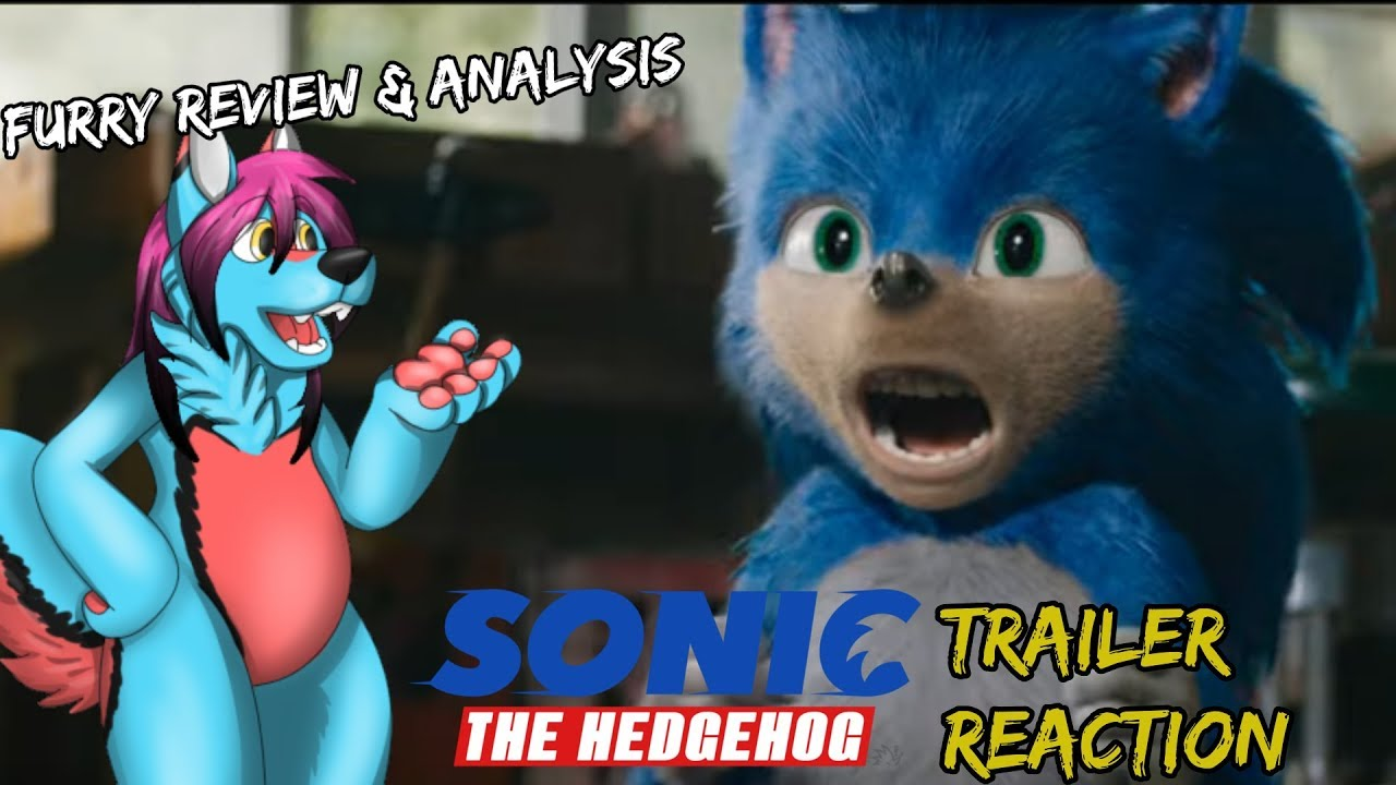 Sonic Reacts to Sonic The Hedgehog Movie - YouTube
