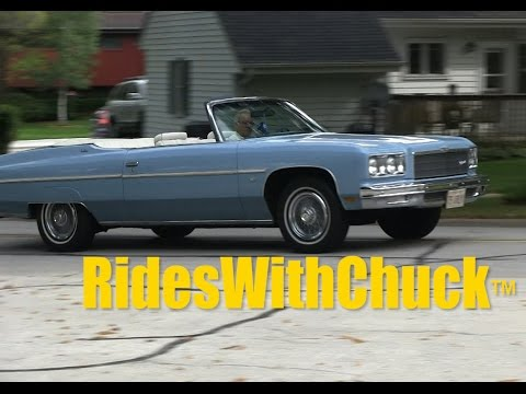 1975 Chevy Caprice Classic Convertible and YES, we go for a ride.
