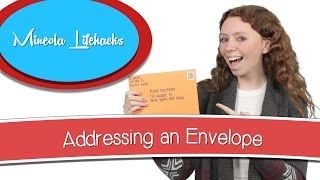 Addressing an Envelope | Minęola Lifehacks!