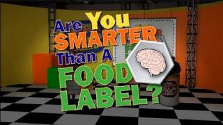 The Food Label And You: Game Show Review Are You Smarter Than A Food Label? Historical Psa