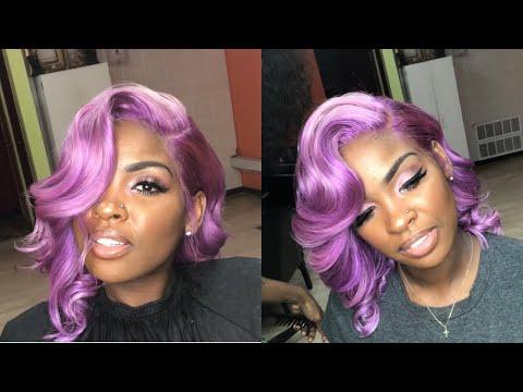 marilyn-monroe-purple-quick-weave-bob-(lace-frontal)-|-hot-girl-summer